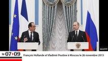 """""""Après la rencontre Poutine-Hollande, la Russie va cesser de bombarder l'insurrection syrienne"""" (Géopolitique)"""