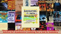 Read  Navigating the Path to Industry A Hiring Managers Advice for Academics Looking for a Job Ebook Free