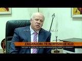 Zaganjori: Të ndryshojë KLD-ja - Top Channel Albania - News - Lajme