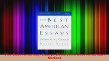 PDF Download  The Best American Essays 2002 The Best American Series PDF Full Ebook
