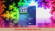 Chest XRay Made Easy 2e PDF