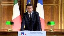"""[ARCHIVE] """"La culture est plus forte que l'ignorance, la beauté plus forte que la barbarie"""" Matteo Renzi"""