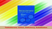 Testosterone Action Deficiency Substitution PDF