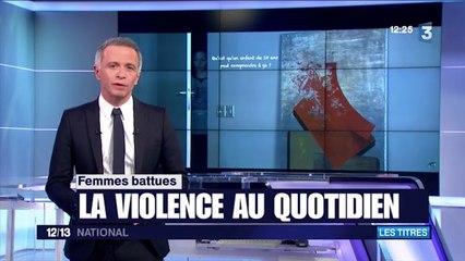 La Vision d'un Enfant (film) dans les gros titres sur France 3 (JT National 12/13 le 25/11/15)