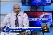 Culpable por crimen de un japonés en Guayaquil