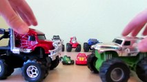 Monster Truck Machines HD toys and hot wheels trucks