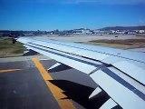 TAKE OFF FROM SFO to SEA - Virgin America VX 744