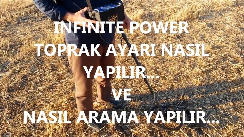 INFINITE POWER ARAZİ TEST (ALTINAY DEDEKTÖR)    TEL: 02164988685