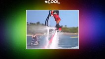 fly  water  flyboarding People Are Amazing  People Are Amazing   amazing  cool  handsome  bestvine