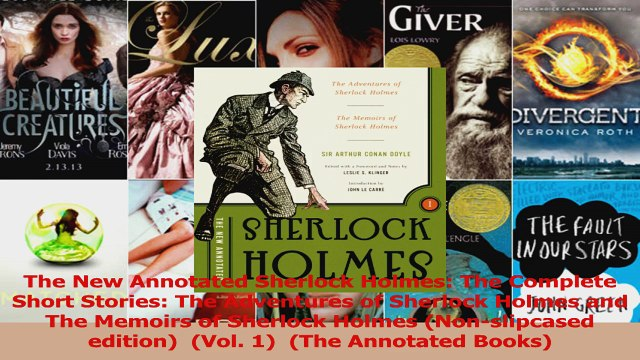 Download  The New Annotated Sherlock Holmes The Complete Short Stories The Adventures of Sherlock Ebook Free