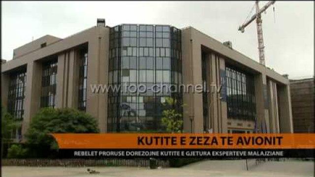 Rebelët dorëzojnë kutitë e zeza - Top Channel Albania - News - Lajme