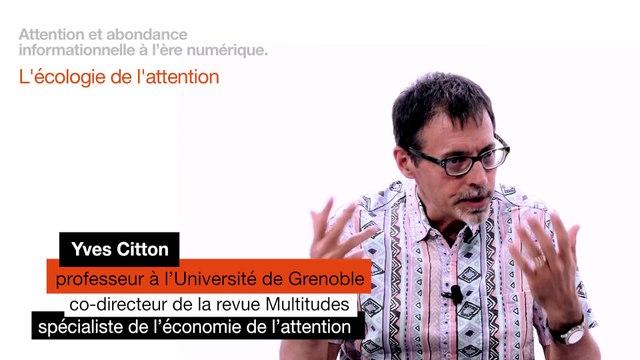 Yves Citton L'ecologie de l'attention
