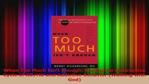 PDF Download  When Too Much Isnt Enough Ending the Destructive Cycle of ADHD and Addictive Behavior Read Online
