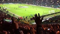 Ajaxfans zingen bij Celtic_ Wij Zijn Ajax Wij Zijn De BESTE (WZAWZDB) 26.11.2015