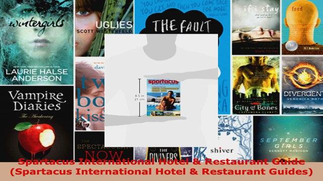 Read  Spartacus International Hotel  Restaurant Guide Spartacus International Hotel  EBooks Online