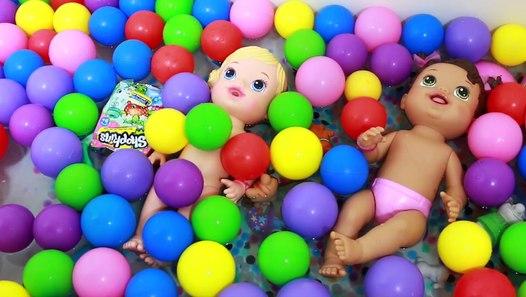Giant Baby Alive Surprise Ball Pit Bath Tub Surprise Toys