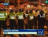Marchas en Quito para exigir el archivo de las enmiendas