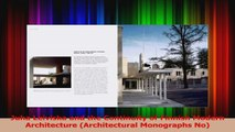 PDF Download  Juha Leiviska and the Continuity of Finnish Modern Architecture Architectural Monographs PDF Online