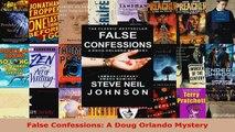 Read  False Confessions A Doug Orlando Mystery EBooks Online