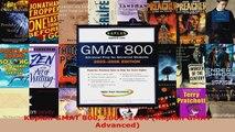 Read  Kaplan GMAT 800 20052006 Kaplan GMAT Advanced Ebook Free