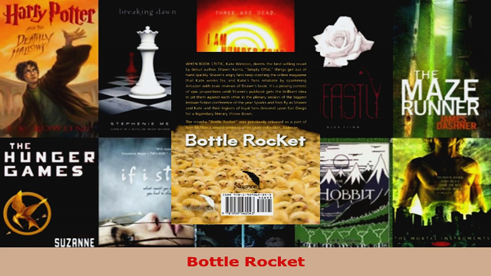 Read  Bottle Rocket Ebook Free