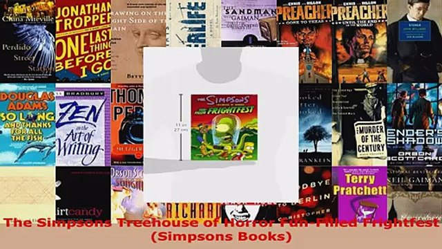 Read  The Simpsons Treehouse of Horror FunFilled Frightfest Simpsons Books EBooks Online