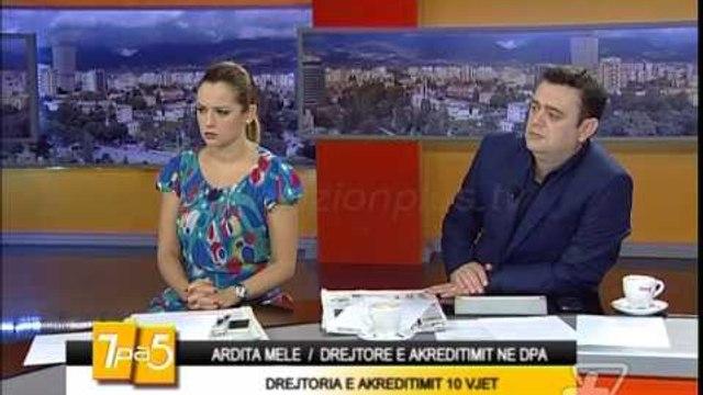 7pa5 - Drejtoria e Akreditimit 10 vjet - 30 Shtator 2014  - Show - Vizion Plus