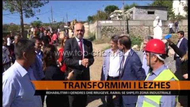 Transformimi i Lezhës - Top Channel Albania - News - Lajme