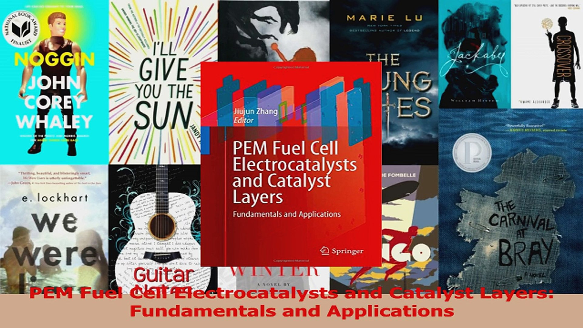 Download PEM Fuel Cell Electrocatalysts and Catalyst Layers Fundamentals  and Applications PDF Free