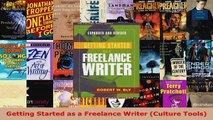 Download  Getting Started as a Freelance Writer Culture Tools PDF Free