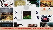 PDF Download  Cockroaches Ecology Behavior and Natural History Read Full Ebook