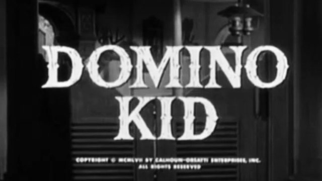 Domino Kid (1957) Rory Calhoun, Kristine Miller, Andrew Duggan.  Western