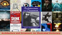 Read  Architecture and Ornament An Illustrated Dictionary Ebook Free