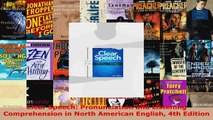 Download  Clear Speech Pronunciation and Listening Comprehension in North American English 4th EBooks Online