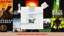 Read  Lubricants and Lubrication Ebook Free