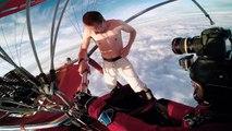 Il saut d'une montgolfière sans parachute !
