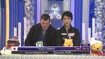 151127  NHK Trophy Yuzuru Hanyu SP