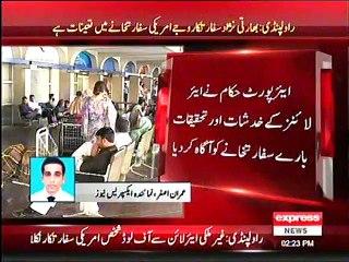 American Embassy employee Ajit Vijay Joshee offloaded flight in Islamabad due to security threat