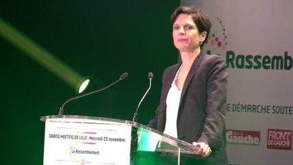 Sandrine Rousseau Lille le 25 novembre 2015