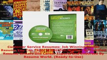 Read  Customer Service Resumes Job Winning Master Resume You Can Tailor in Minutes Written By PDF Online