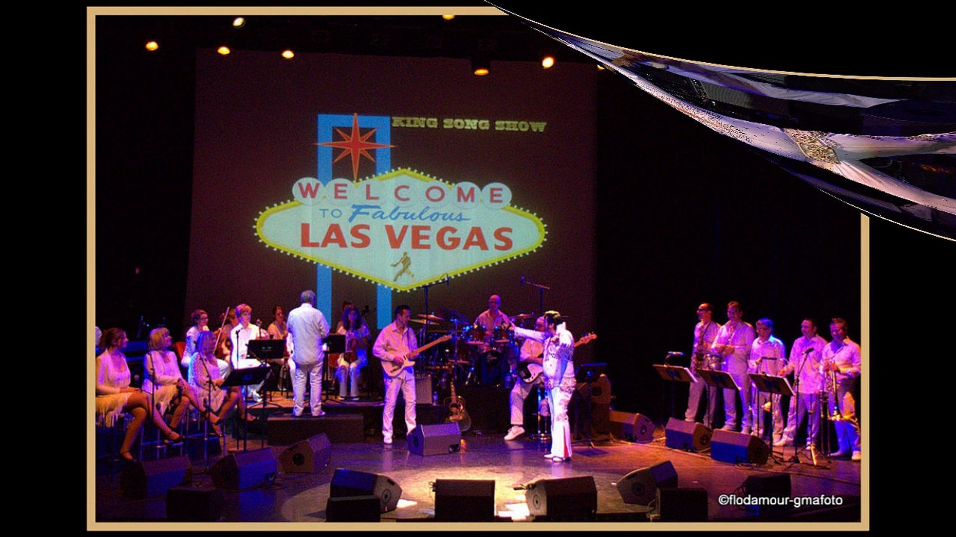 Chris Agullo And The Vegas Band (hommage à Elvis Presley - Mennecy 2015)