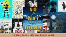 Read  No Way Down Life and Death on K2 Ebook Free