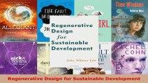 Read  Regenerative Design for Sustainable Development PDF Online