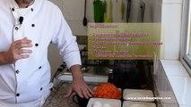 Bolo de cenoura com cobertura de chocolate - Receitas fáceis e Simples - Cozinha Prática