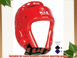 M.A.R International Ltd Dipped Foam Kickboxing Head Guard Boxing Thai Boxing Mma Muay Thai