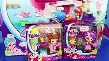 Flipsies Doll Dollhouse & Ocean Cruiser Boat with Pet Vet Eva & Rockstar Jazz Dolls Makeov