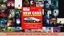 Read  Edmunds New Cars Prices  Reviews Vol N3402 Edmunds New Cars  Trucks Buyers Guide Ebook Free
