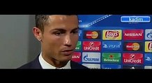 Malmo FF vs Real Madrid 0 - 2 - Cristiano Ronaldo post-match interview - Dailymotion video