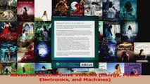 Download Advanced Electric Drive Vehicles (Energy Power