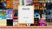 Read  Rhialto the Marvellous The Dying Earth series Book 4 PDF Free